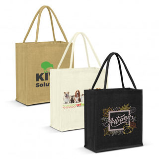 Lanza Jute Tote Bag - Colour Match